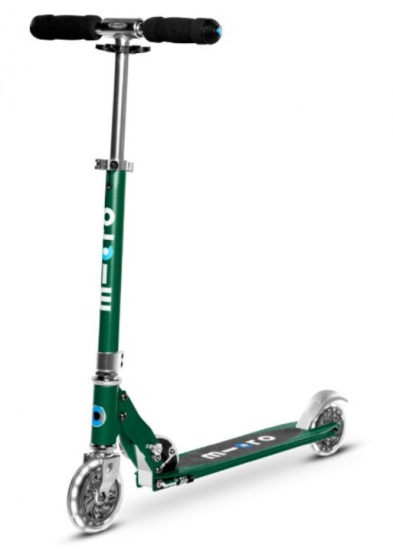 Micro Scooter Sprite Green LED