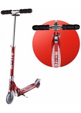 Micro Scooter Sprite Red красные полоски
