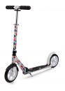 Micro Scooter White 200mm Floral Multicolor