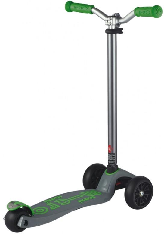 Micro Maxi Deluxe Pro Grey Green (Серо-Зеленый) Самокат