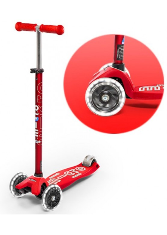 Micro Maxi Deluxe LED Red MMD068