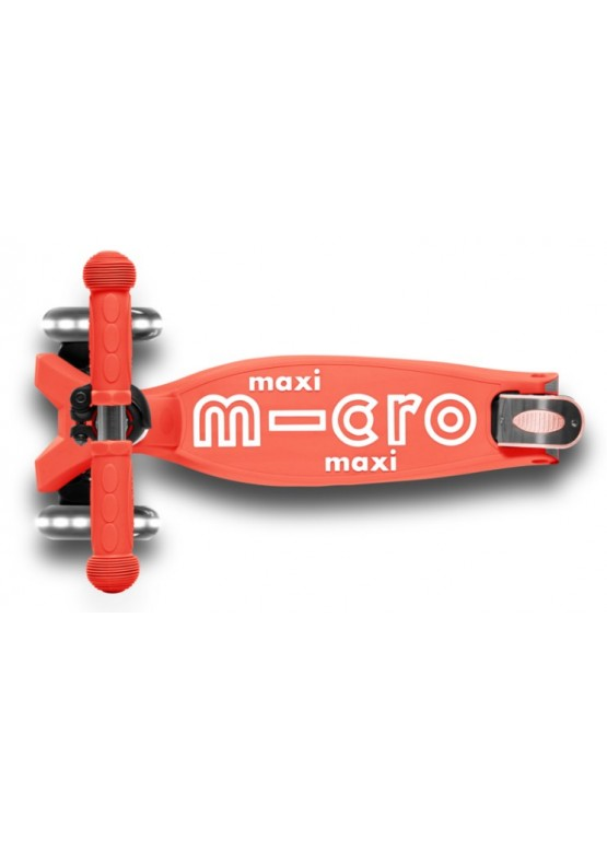 Micro Maxi Micro Deluxe LED Coral Pink СКЛАДНОЙ MMD093
