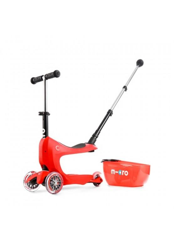 Micro Mini2Go Deluxe Plus Rubin Red с навесом