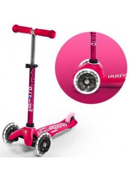 Micro Mini Deluxe Pink Розовый LED