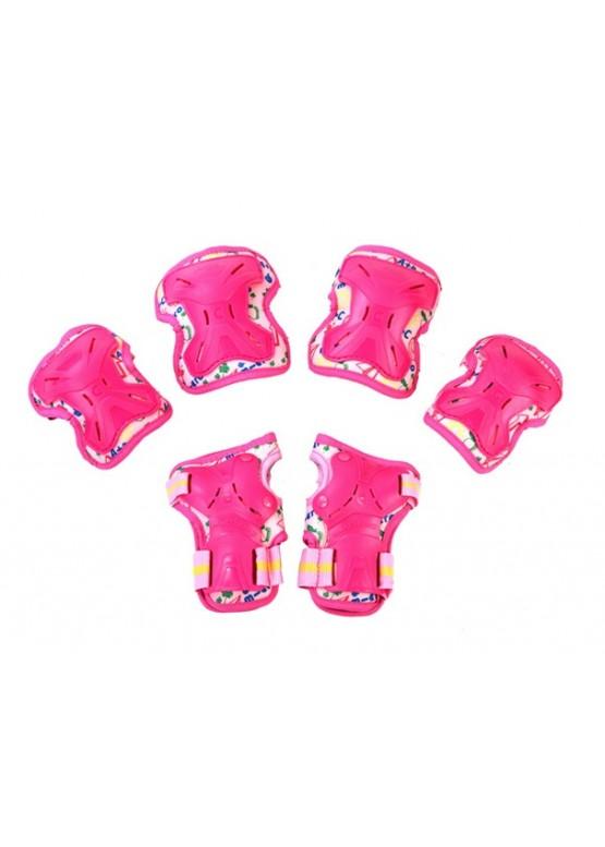 Защита детская Micro MP1 3 в 1 Pink
