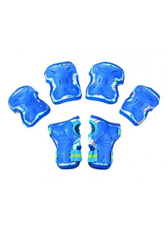 Защита детская Micro MP1 3 в 1 Blue