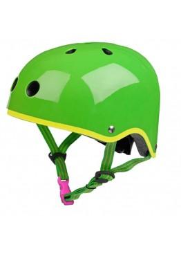 Шлем защитный Micro Зеленый глянцевый
