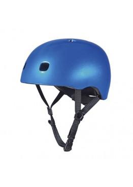 Защитный Шлем - Micro - синий металик (V2)