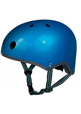 Шлем защитный Micro (синий металлик)