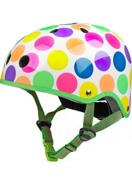 Шлем защитный Micro (неоновые точки)