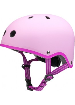 Шлем защитный Micro (розовый матовый)