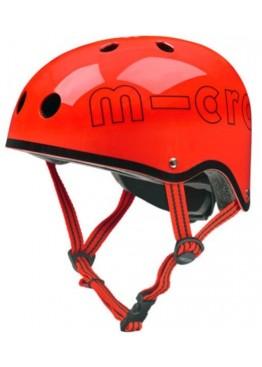 Шлем защитный Micro (красный глянцевый)