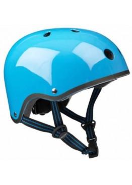 Шлем защитный Micro (голубой неон)