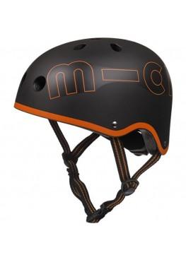 Шлем защитный Micro Черный-Оранжевый