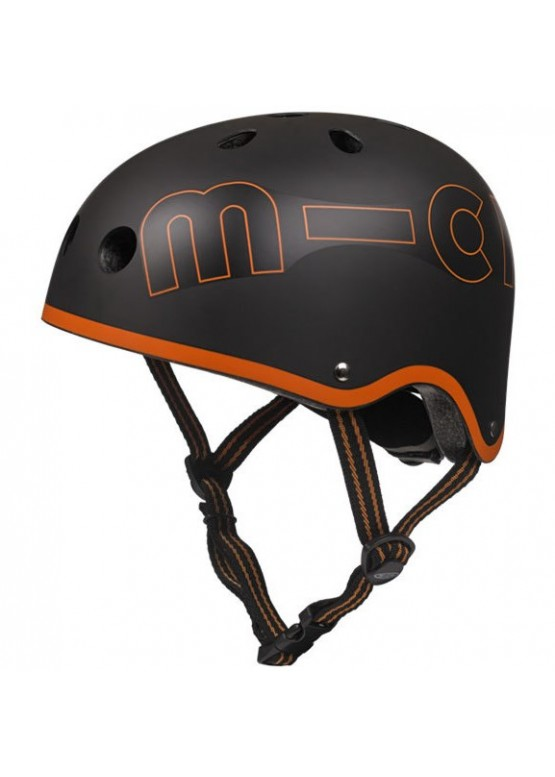 Шлем защитный Micro Черный-Оранжевый (Black Orange)