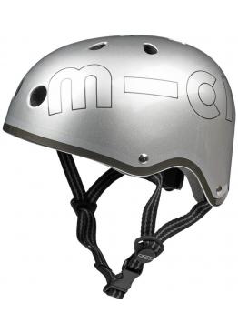 Шлем защитный Micro (маталлик) Silver