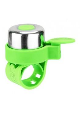 Звонок на Самокат Micro Зеленый Неон