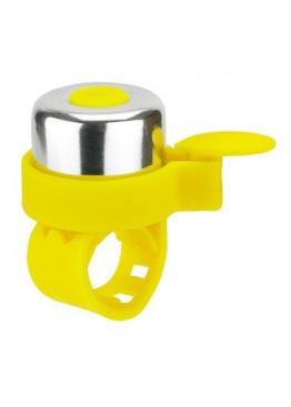 Звонок на Самокат Micro Желтый неон