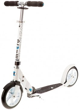 Micro Scooter White 200mm
